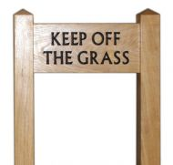 Ladder Sign (Small) on 75mm (3in) Posts