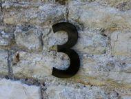 Acrylic House Numbers