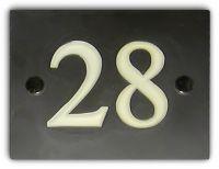 Square/Rectangular Number Sign (Slate)