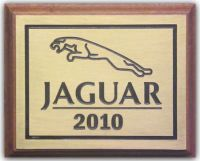 Solid Brass Plaque + Backing Board