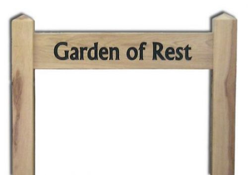 Ladder Sign (Large) on 100mm (4in) Posts