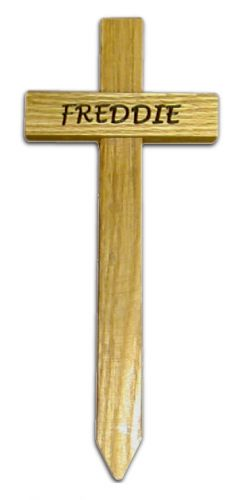 Pet Memorial Cross (Small)