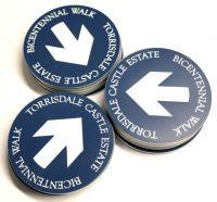 Waymarker Disks - Trail Markers