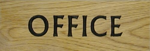 Office/Bedroom Plaque (Large)