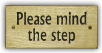 Please Mind The Step