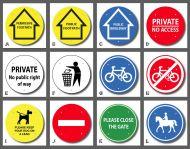Waymarker Disks - Standard Markers
