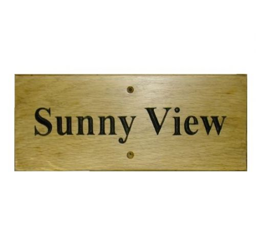 Rectangular Sign (Small)
