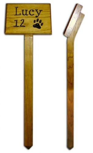 Pet Grave Marker - Wooden
